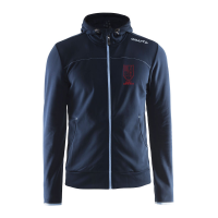 Craft Full Zip Hood - Dark Navy - Heren