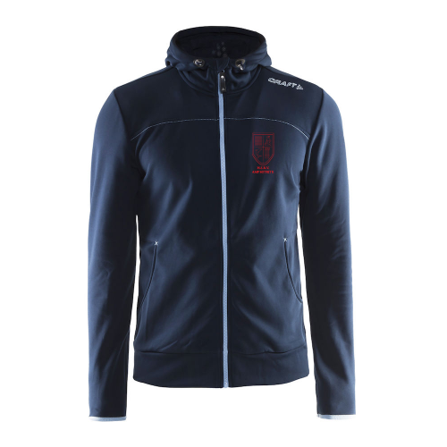 Craft Full Zip Hood - Dark Navy - Dames