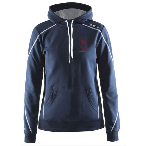 In-the-zone Hood W - Dark Navy - Dames