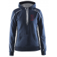 In-the-zone Hood W - Dark Navy - Heren